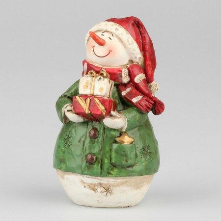 Snehuliak s darčekom