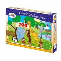 Detoa Společenská hra Člověče, pojď do ZOO!, 33,5 x 23 x 3,5 cm