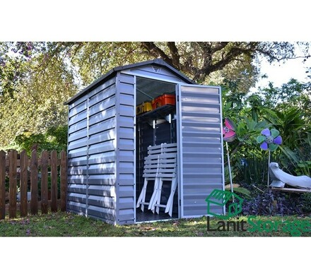 Zahradní domek SkyLight 4 x 6 šedý