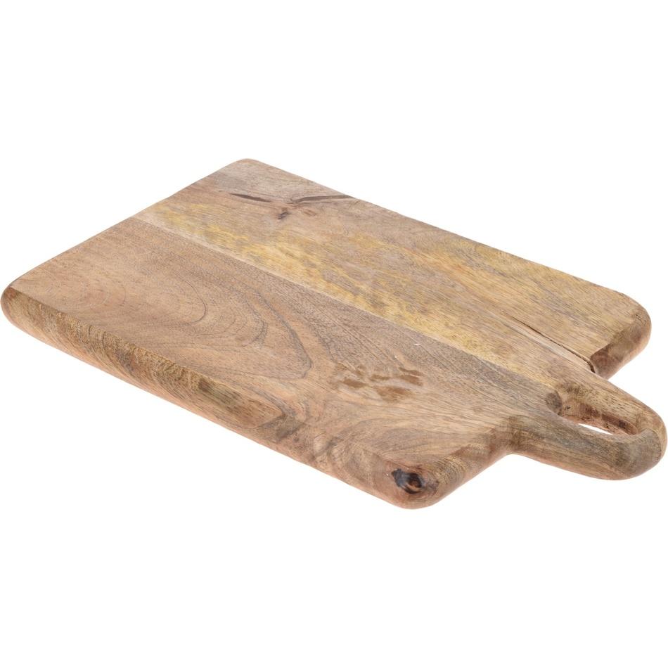 Prkénko z mangového dřeva 33 x 20 x 2,2 cm