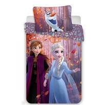 Lenjerie bumbac pentru copii Jerry Fabrics Frozen 2 Sister purple, 140 x 200 cm, 70 x 90 cm