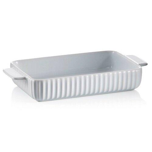 Kela Maila kerámia sütőtál, 33,5 x 16 x 6cm, fehér