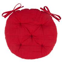 Pernă Red brodată rotundă, 40 cm