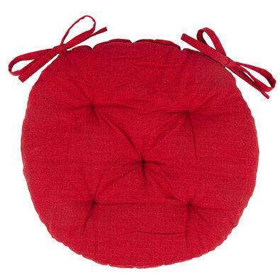 Red ülőke, steppelt, kerek, 40 cm