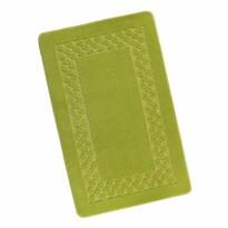 Koupelnová předložka Standard Rám zelená, 60 x 100 cm