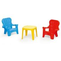 Dolu gyermek kerti bútor, asztal és 2 szék