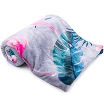 Light Sleep New Flamingó grey takaró, 150 x 200 cm