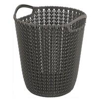 Curver Odpadkový kôš na papier Knit, 7 l, hnedá