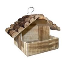 Hrănitor din lemn Kamil, 25 x 20 x 31 cm