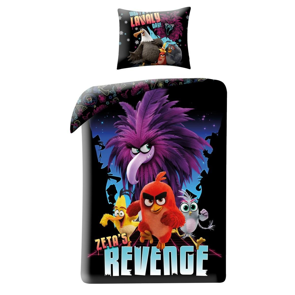 Halantex Dětské bavlněné povlečení Angry Birds Movie 2 Revenge, 140 x 200 cm, 70 x 90 cm