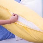 4Home Obliečka na Relaxačný vankúš Náhradný manžel žltá, 55 x 180 cm