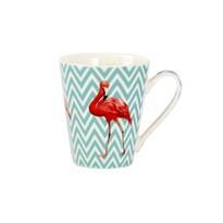 Kubek ceramiczny Flaming 300 ml, niebieska fala