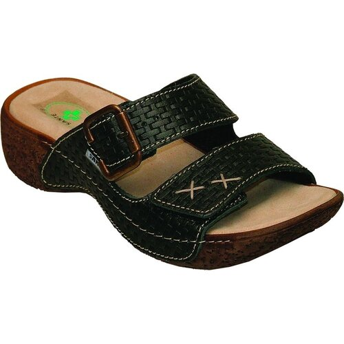 Dámske zdravotné papuče Santé, čierne, 38