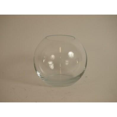Váza skleněná kulatá 9,5 cm