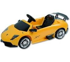 Elektrické autíčko Lamborghini Murcielago, Buddy Toys , žlutá