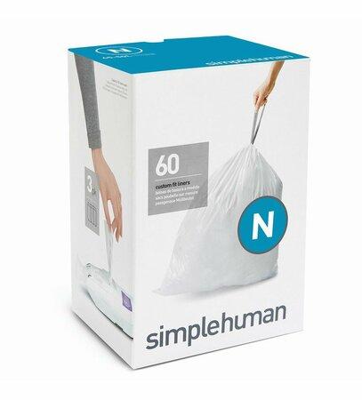 Simplehuman Worki do kosza na śmieci N 45-50 l, 60 szt.