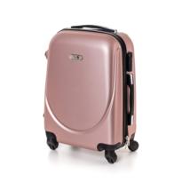 Pretty UP Kufr na kolečkách ABS16 růžová, 37 x 49 x 23 cm