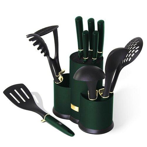 Berlinger Haus 12dílná sada kuchyňského náčiní ve stojanu Emerald Collection