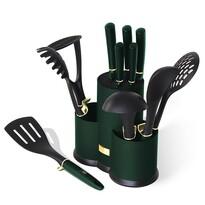 Berlinger Haus 12-częściowy zestaw akcesoriów kuchennych w stojaku Emerald Collection