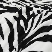 4Home povlečení mikroflanel Zebra, 140 x 200 cm, 70 x 90 cm