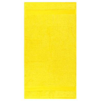 Ručník Olivia žlutá, 50 x 90 cm