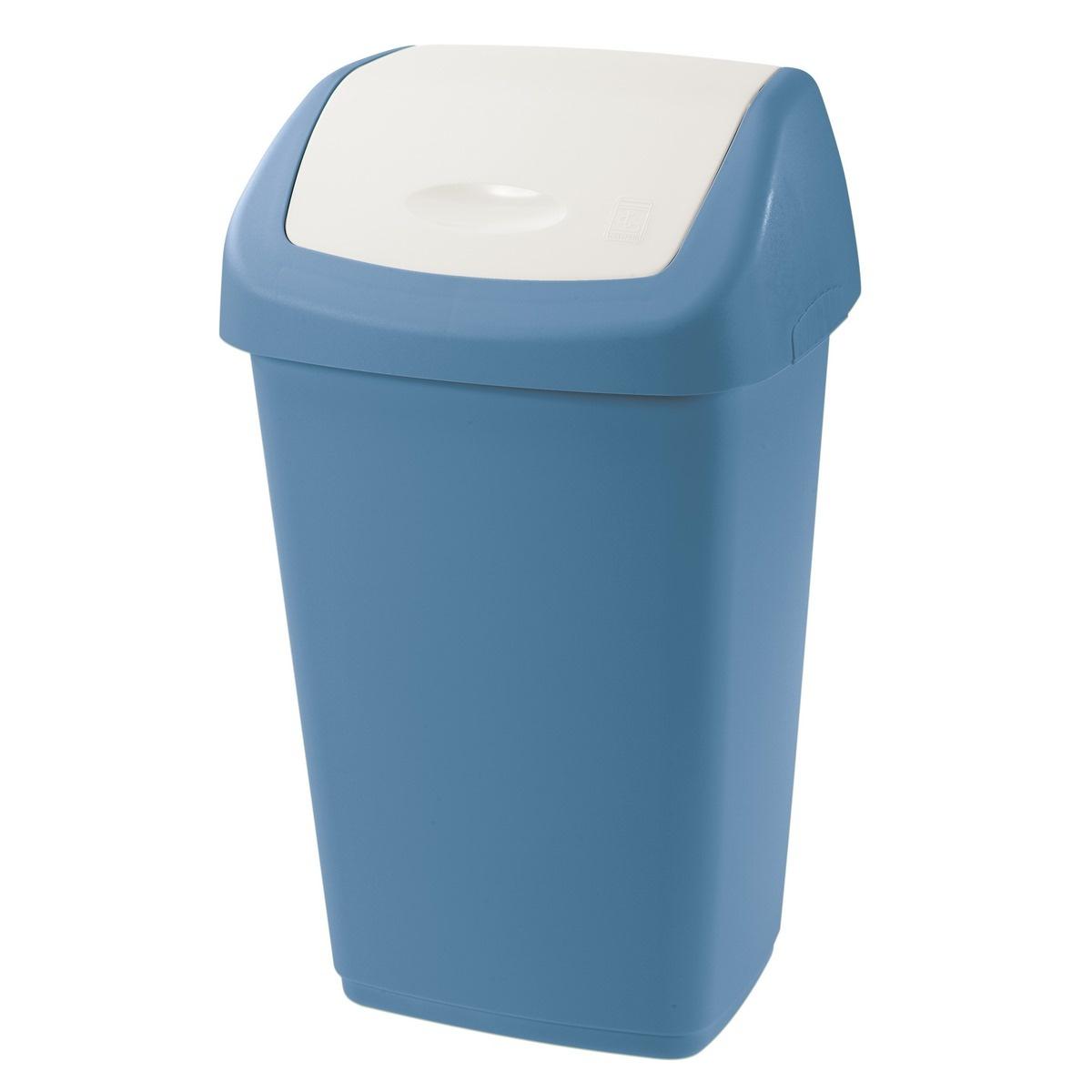 Tontarelli Odpadkový kôš Aurora, 25 l, modrá