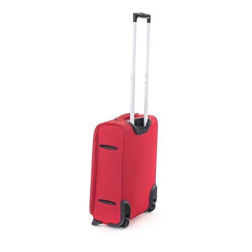 Pretty UP textil utazóbőrönd TEX15 S, piros