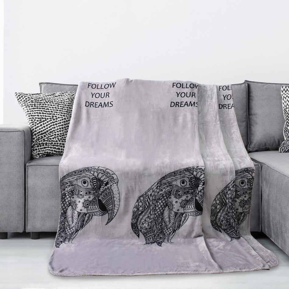 AmeliaHome Deka Macaw, 150 x 200 cm