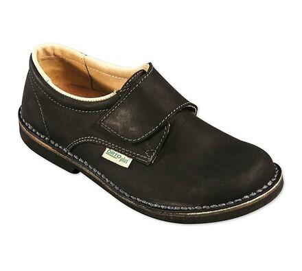 Orto Plus Dámská obuv vycházková na suchý zip vel. 42 černá