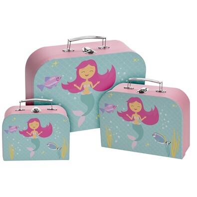 Sada detských kufrov Little Mermaid, 3 ks