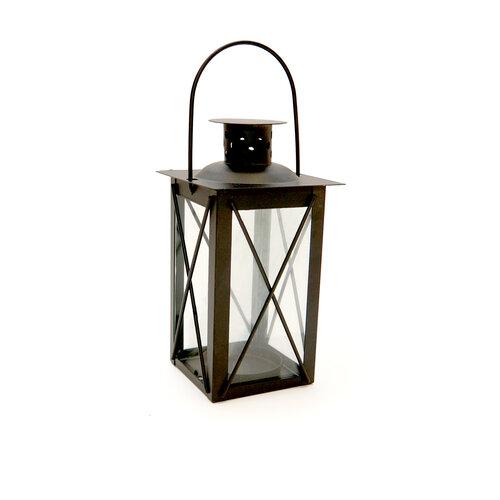 Mini lucerna 14 cm, černá