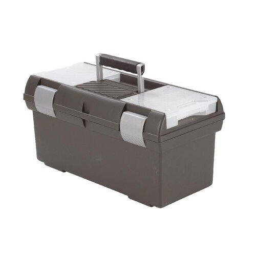 Curver 02934-976 kufr na nářadí Premium L, šedá