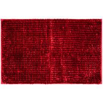 Mata łazienkowa Ella micro czerwona, 50 x 80 cm