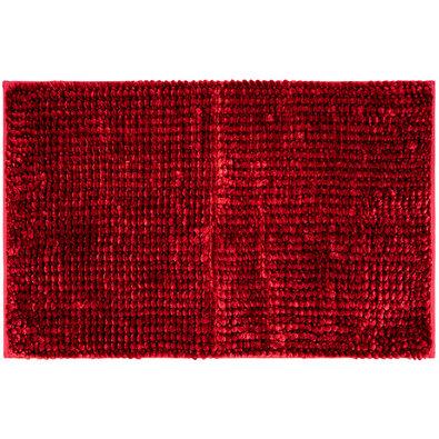 Koupelnová předložka Ella micro červená, 50 x 80 cm