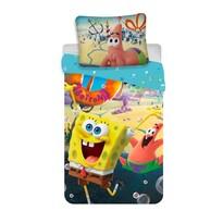 Detské bavlnené obliečky Spong Bob movie, 140 x 200 cm, 70 x 90 cm