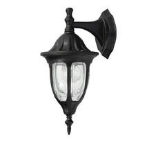 Vonkajšie nástenné svietidlo Rabalux Milano čierna, čierna, 16,5 x 37 x 20,5 cm