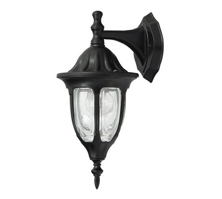 Venkovní nástěnné svítidlo Rabalux Milano černá 83, černá, 16,5 x 37 x 20,5 cm