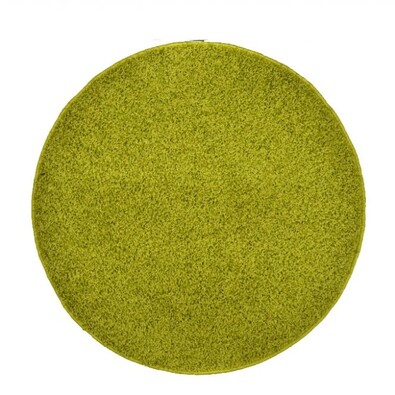 Kusový koberec Elite Shaggy zelená, průměr 160 cm