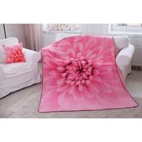 Domarex Koc Harmony różowy, 150 x 200 cm