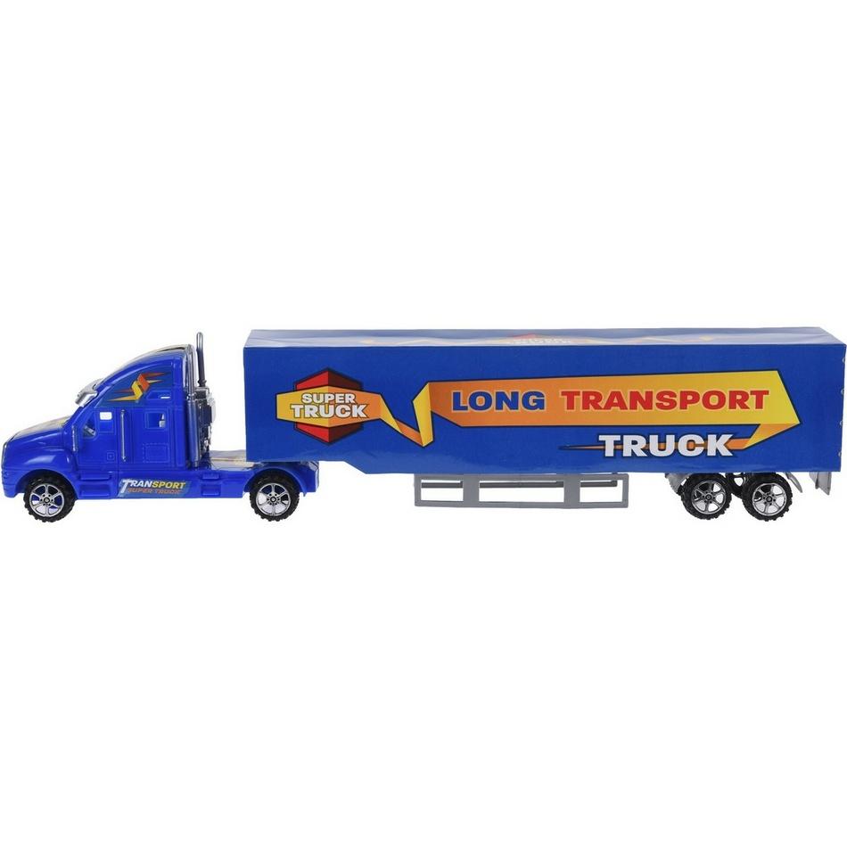 Nákladní auto Super truck modrá, 43 cm
