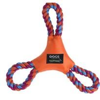 Jucărie pentru câini Dog rope, portocaliu