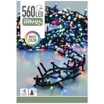 Bożonarodzeniowy łańcuch świetlny Cluster, kolorowy, 560 LED