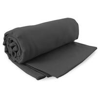 DecoKing Fitness Ręcznik kąpielowy Ekea szary, 70 x 140 cm