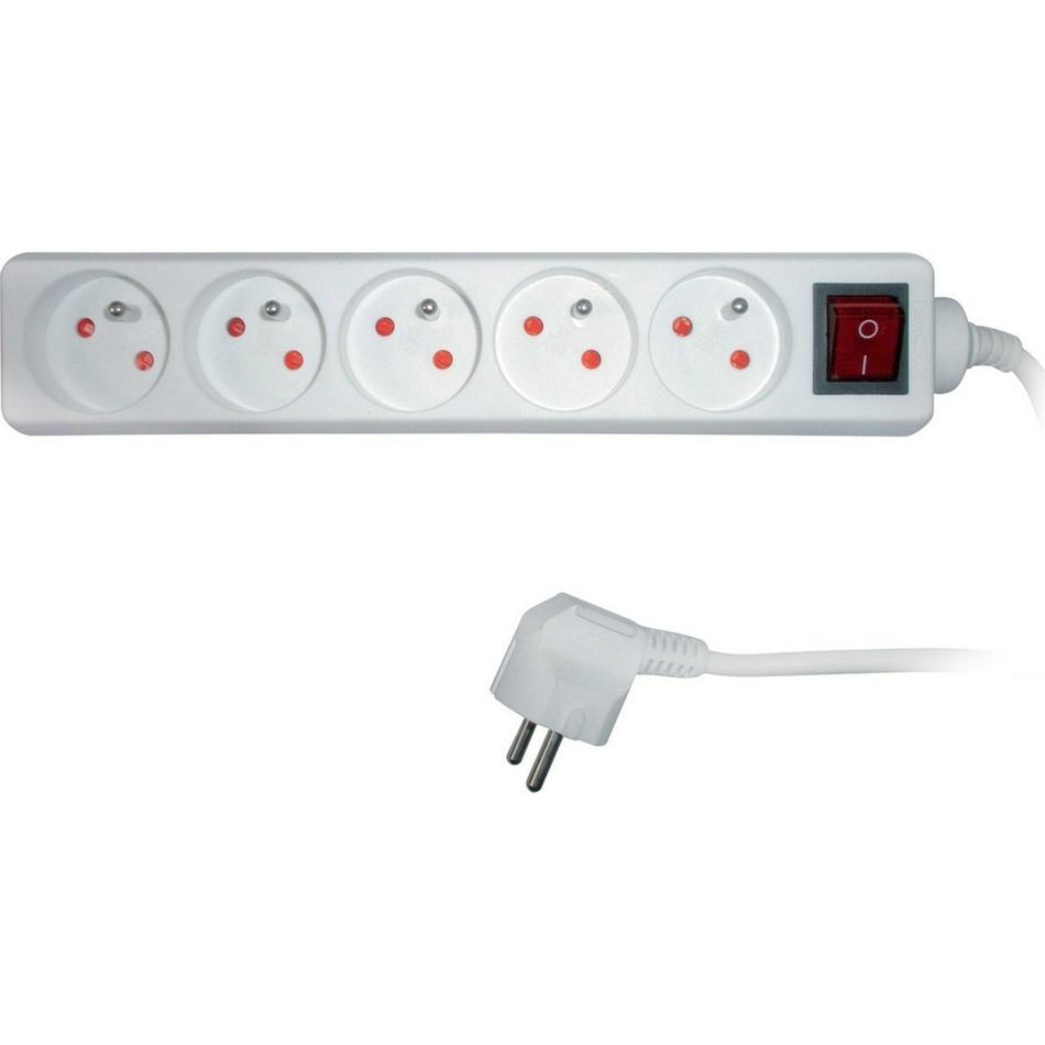 Predlžovací kábel 5 zásuviek Sencor SPC 30