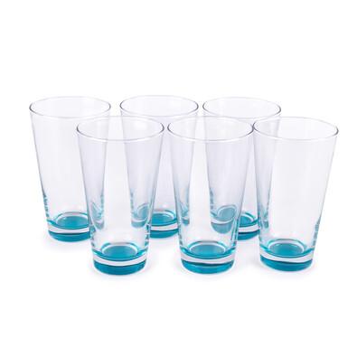 Maxwell&Williams 6dílná sada sklenic modrá