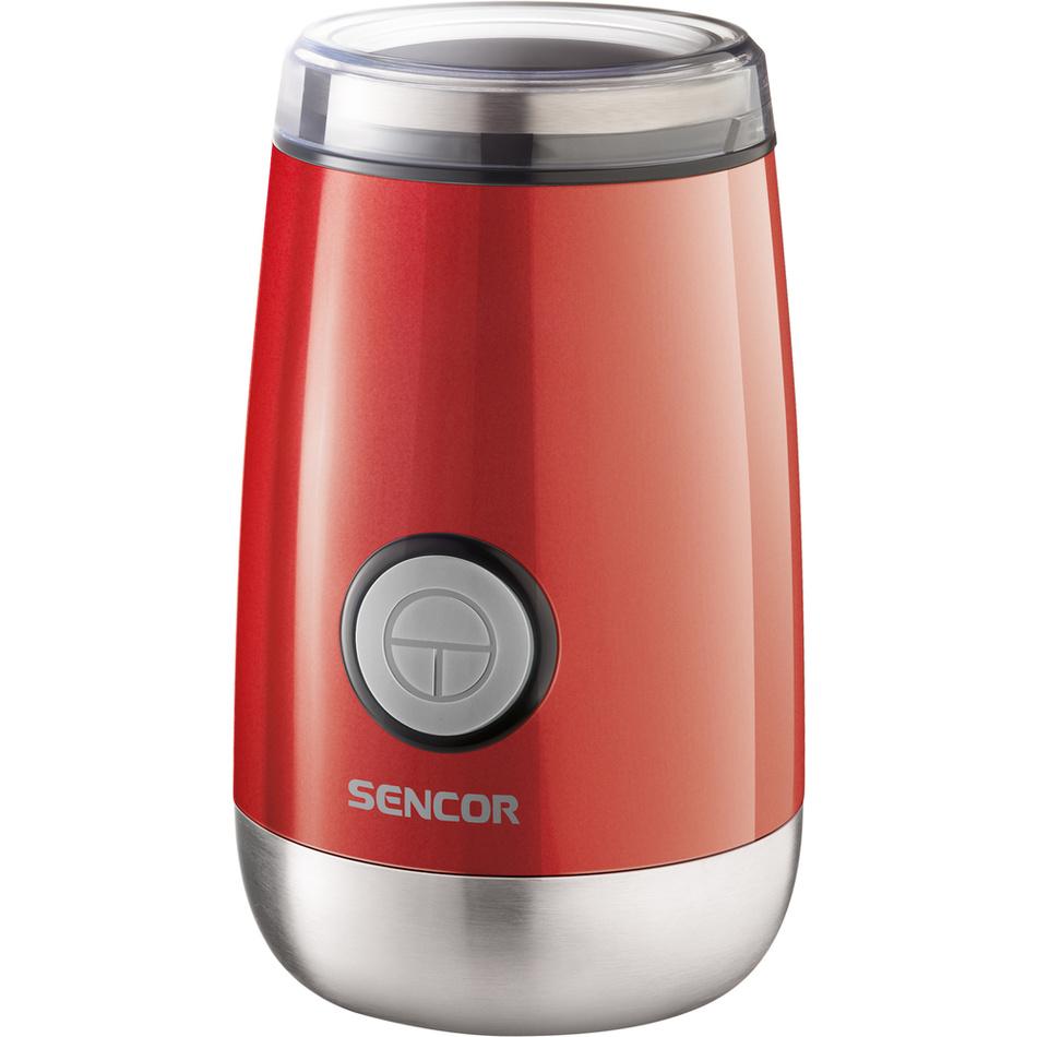 Sencor SCG 2050RD młynek do kawy, czerwony