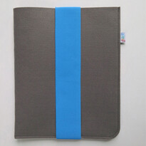 Pokrowiec na iPad, z niebieską gumką