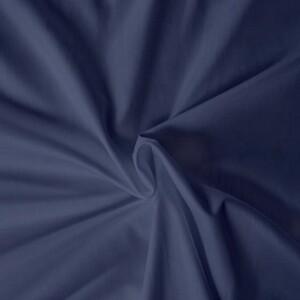 Kvalitex prostěradlo satén tmavě modré , 90 x 200 cm
