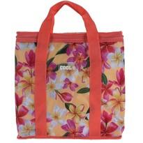 Chladiaca taška Tropical flowers červená, 16 l