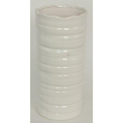 Keramická váza Belmez, bílá